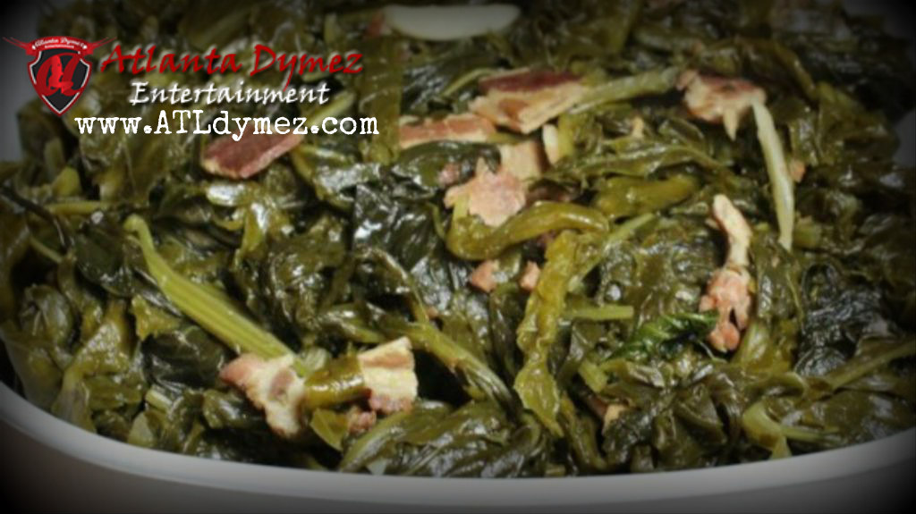 Collard greens w/ Smoked Turkey meat